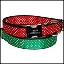Festive Christmas Dog Collars