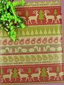 "Paper - Christmas Theme Stripes Kraft Gift Wrap 24"" X 100'"