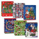 Large Assorted Christmas Gift Bags (12)