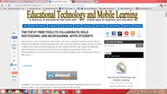 The Top 27 Free Tools to collaborate, hold discussions, and Backchannel with Students ~ Educational Technology and Mo...