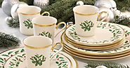 Christmas Holiday Dishware: Best-Rated Christmas Holiday Dinnerware Sets On Sale - Reviews And Ratings