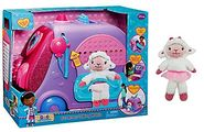 Disney Doc McStuffins Get Better Bundle: Talking Mobile Cart and Beans Lambie Plush