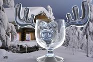 Christmas Moose Glasses Or Moose Mugs And Decorations From Christmas Vacation