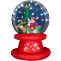 Airblown Christmas Snow Globes (with images) · gshepador