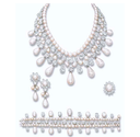 The Gulf Pearl Parure by Harry Winston