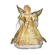 Angel Christmas Tree Topper • Holiday Décor – Season Charm