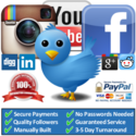 Buy Facebook Likes, Twitter Followers, Instagram Followers