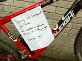 Aberystwyth have the kindest bike thieves