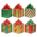 Beistle 3-Pack Christmas Party Favor Boxes, 3-1/4-Inch by 5-3/4-Inch