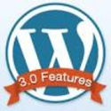 What are WordPress features?
