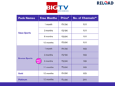 Big TV DTH Recharge Online | Digital Tv Packages | Offers