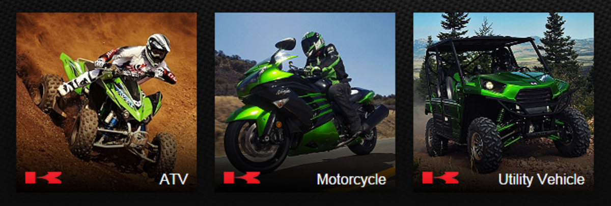 Headline for Kawasaki Bikes