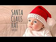 Tutorial Santa Claus Crochet Hat