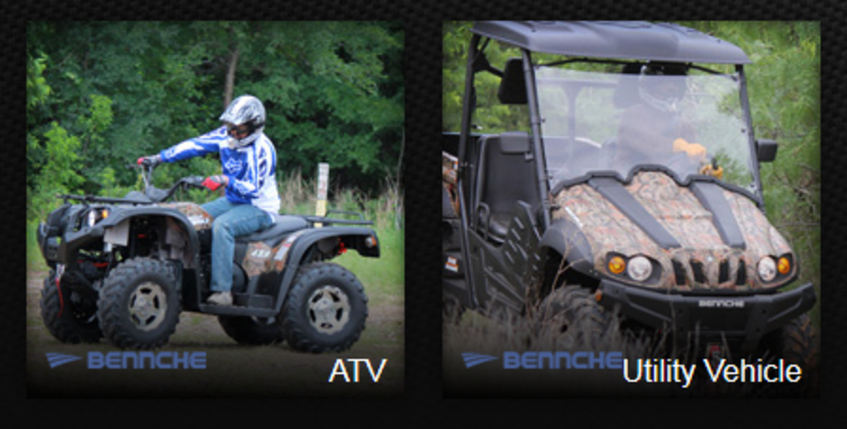 Headline for Bennche ATV and UTV