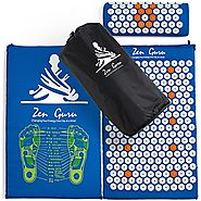 Best Acupressure Mat & Pillow Set - SALE - Effective Remedy for Pain and Stress Relief - With Magnet Therapy - FREE B...