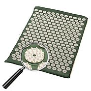 Sivan Health and Fitness® Acupressure Mat for Back Massage Comfort