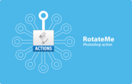 RotateMe Photoshop Actions