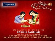 Exclusive Raksha Bandhan Gifts Discount Coupons & Offers