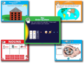 Interactive Whiteboard Lessons - Modern Chalkboard