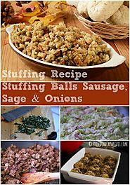 Side Dish: Stuffing Recipe Stuffing Balls With Sausage Sage...
