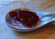 Step by Step Cranberry Sauce +Cranberry Raspberry Orange Sauce Recipe