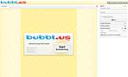 Website at bubbls.us