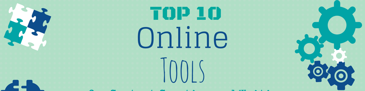 Headline for Top 10 Online Tools for Content Creation and Writing