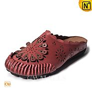CWMALLS Flat Leather Sandals CW306201