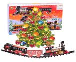 Northern Express Christmas Train set - Around the Tree Holiday Santa Train set - Large Scale 20pcs Train Model