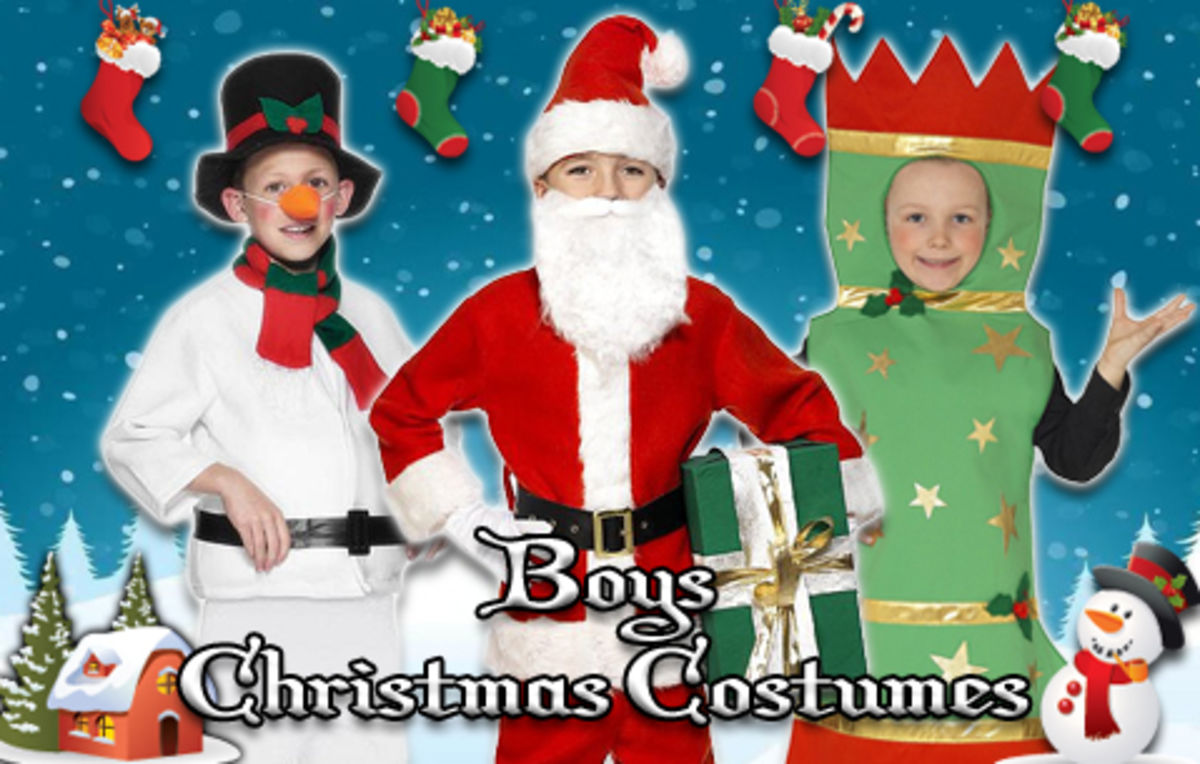 Headline for Christmas Costume Ideas for Boys
