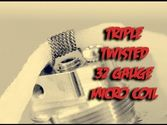 Triple Twisted 32 Gauge Micro Coil