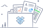 Dropbox is a free service that lets you bring your photos, docs, and videos anywhere and share them easily
