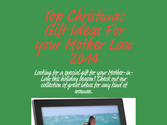 Top Christmas Gift Ideas For your Mother Law 2014