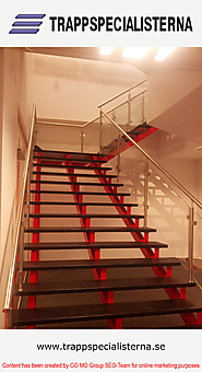 Add Beauty to your Home with Steel Staircases