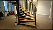 Ornate wooden stairs for Homes and Offices