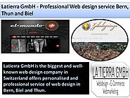 Latierra GmbH - Professional Web design service Bern, Thun and Biel