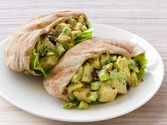 Sweet-and-Spicy Turkey Pitas Recipe