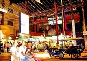 The Pub Street and Siem Reap Night Market