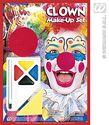Clown Makeup Set - at PartyWorld Costume Shop