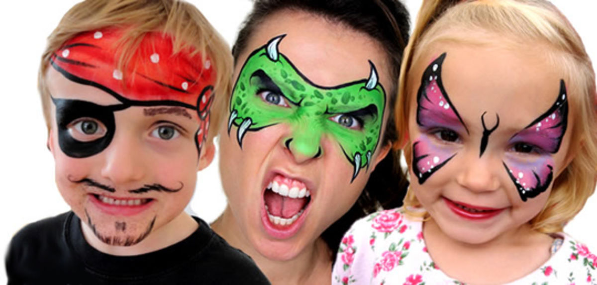 Headline for 9 Of Our Favourite Face Paint/ Make-Up Kits