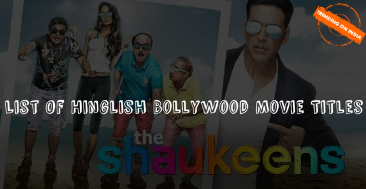 Headline for Hinglish Bollywood Movie Titles