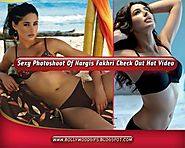 The Best Bollywod Gifs : Nargis Fakhri Hot Photoshoot Making Video
