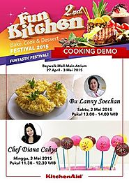 Fun Kitchen Bake, Cook, Dessert Festival 2015