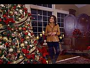 Lisa's Home Decorated for Christmas (Full Length)
