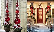 2016 Outside Holiday & Christmas Decorating Ideas