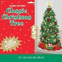 Christmas Tree Scene Setter - at PartyWorld Costume Shop