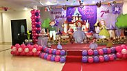 Sofia the first birthday theme