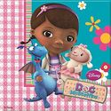 Doc McStuffins Party Napkins - at PartyWorld Costume Shop