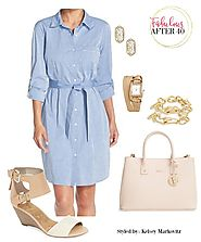 3 CHIC WAYS TO WEAR A CHAMBRAY SHIRTDRESS