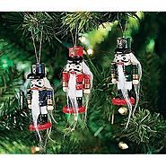 Wooden Nutcracker Ornaments